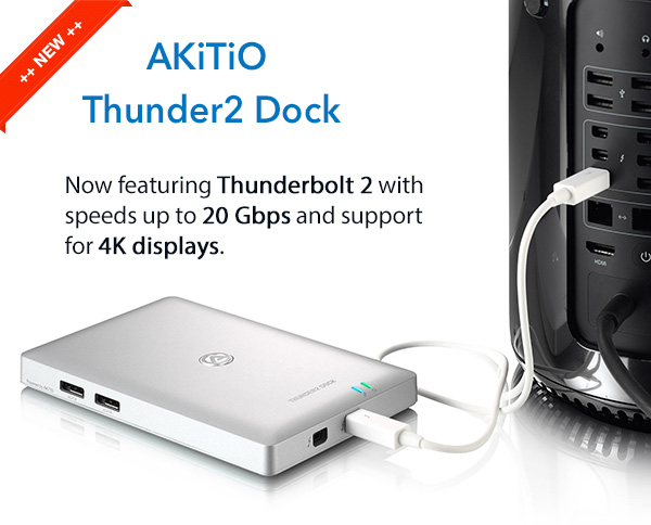 Akitio Palm RAID - Thunderbolt SSD