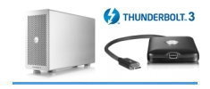 Thunderbolt 3 with C Connector